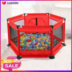 Lều bóng, Cũi bóng, Nhà bóng khung thép không rỉ ( Tặng kèm 10 bóng) thích hợp cho bé từ 6 tháng tuổi