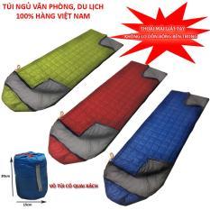 Túi ngủ văn phòng,du lịch 3 lớp chần gòn hàng việt nam