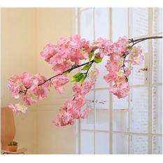 Cành hoa anh đào Nhật Bản cỡ lớn 95cm trang trí nhà cửa, nhà hàng, khách sạn, làm cây đào