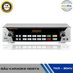 Đầu karaoke kỹ thuật số Nosta TKR-304V – Tặng kèm ổ cứng 500GB