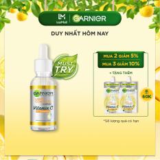 [Voucher giảm 15K] Tinh chất serum sáng da, giảm thâm mụn Vitamin C chiết xuất Yuzu tự nhiên – Garnier Light Complete 30x Booster Serum 30ml