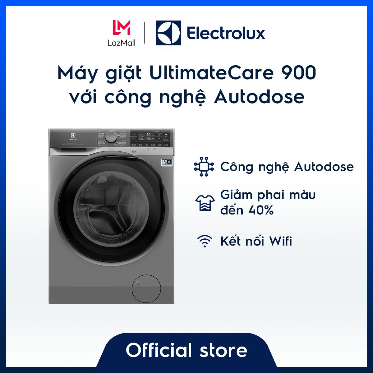 Máy giặt 11kg Electrolux EWF1141SESA- Công nghệ Autodose – Dòng cao cấp (xám) – Tự động tính nước giặt & xả