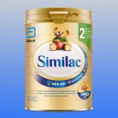 Sữa bột Abbott Similac số 2 dành cho trẻ nhỏ 6-12 tháng tuổi (Hộp 900g)