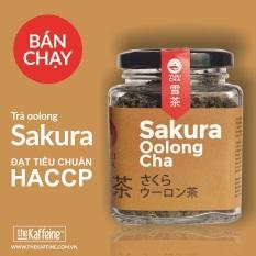 Trà Olong Sakura Thượng Hạng 100gram – Trà Oolong của The Kaffeine Coffee