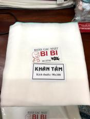 1 khăn gạc mùng tắm bé siêu thấm 5 lớp 90* 100cm