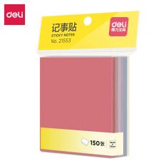Giấy note, giấy nhớ 6 màu 150 tờ/tệp Deli – giấy nhắn, giấy nhớ, giấy ghi chú, đánh dấu văn phòng, đồ dùng học tập học sinh- 21553