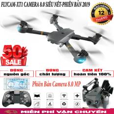 Flycam, Flycam điều khiển Giá Rẻ Flycam XT-1 Động cơ mạnh mẽ camera chống rung quang học Flycam XT1 Wifi 720P Camera Truyền Hình Ảnh Về Đt thông minh.