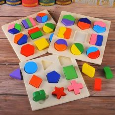 Combo 3 bảng xếp hình học bằng gỗ – đồ chơi phát triển tư duy trí tuệ, sản phẩm tốt, chất lượng cao, cam kết như hình, độ bền cao