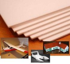 [5mm 50x50cm] Combo 4 tấm xốp Depron làm mô hình máy bay tàu xe điều khiển từ xa RC, nhà cửa mô hình kiến trúc, trang trí nội thất, cách âm, cách nhiệt (VA001 TPx2) – Luân Air Models