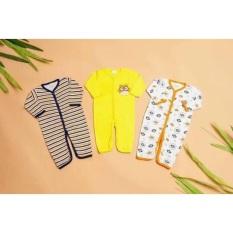Body liền thân body sleepsuits cho bé trai bé gái sơ sinh 3-9kg ( không bao chân) chất liệu và thiết kế thông minh đảm bảo an toàn cho trẻ sử dụng có độ bền cao cam kết như hình