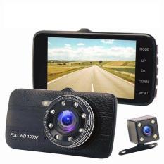 Camera Hành Trình Xe Hơi, Xe Tải Trước và Sau Full HD Tích Hợp 8 Đèn LED