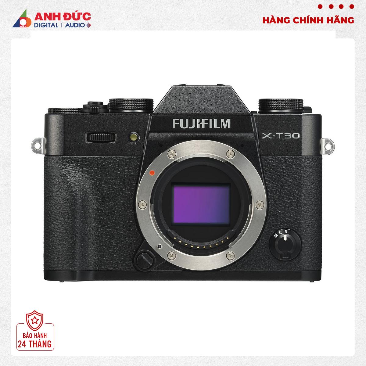 Máy ảnh Fujifilm X-T30 Body Black Chính hãng - Bảo hành 24 tháng toàn quốc