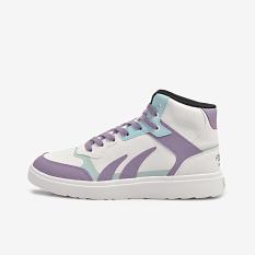 [Tặng Set 2 Chiếc Khẩu Trang Vải Kháng Khuẩn RABITY] Giày Thể Thao Nam/Nữ Biti's Hunter Street High Purple DSMH06200TIM/DSWH06200TIM (Tím)