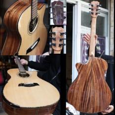 Đàn Guitar Acoustic Gỗ Điệp VG-DV1 – Tặng full phụ kiện – Vinaguitar Phân Phối Chính Hãng