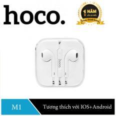 Tai nghe nhét tai Hoco M1 cho IOS và Android – Hàng Chính Hãng