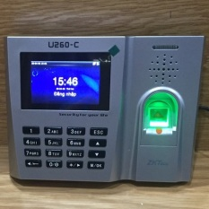 Máy chấm công ZKteco U260-C ( Vân Tay + Thẻ Từ)