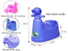 [M] Bô Vệ Sinh Hình Con Vịt Việt Nhật Có Khay Kéo Cho Bé Nhựa Cao Cấp Việt Nhật – kích thước: 36 x 27 x 34 cm – chất liệu: 100% chất liệu nhựa pp cao cấp – lòng bô thiết kế giống ngăn kéo, có thể tháo rời, thuận tiện khi dọn rửa