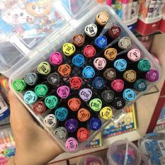 Màu dạ Marker Touch 6 – set 12/ 24/ 36/ 48/ 60 màu, màu sắc tươi tắn, hộp nhựa cao cấp.