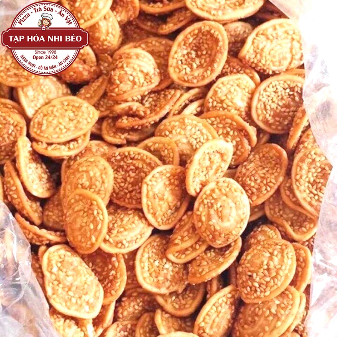 Bánh Tai Heo Mè Cốt Dừa Thơm Ngon Béo Ngậy – 100gram – Tạp Hóa Nhi Béo