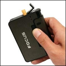 Hộp quẹt Focus kiêm hộp đựng điếu – Bật lửa 2 in 1 model 2020