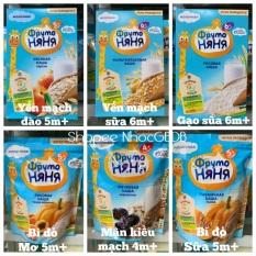 [HSD 12/2021] Bột ăn dặm Fruto ngũ cốc sữa đủ vị 200g (Nga) – Táo chuối YM 6m+