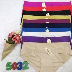 Combo 10 quần lót nữ su đúc DỄ THƯƠNG không đường may nhiều màu ( có thể chọn màu) – DLN68