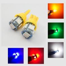Bộ 2 đèn LED demi, xi nhan T10 Siêu Sáng 5050 – Đủ Màu Chọn