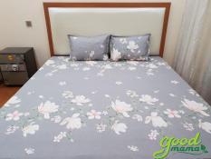 Ga chống thấm Goodmama 100% cotton kích thước 1m6x 2mx10cm(không vỏ gối)
