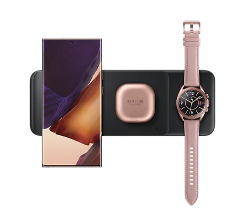 Bộ sạc không dây Samsung Wireless Charger Trio 2020 – EP-P6300-nobox