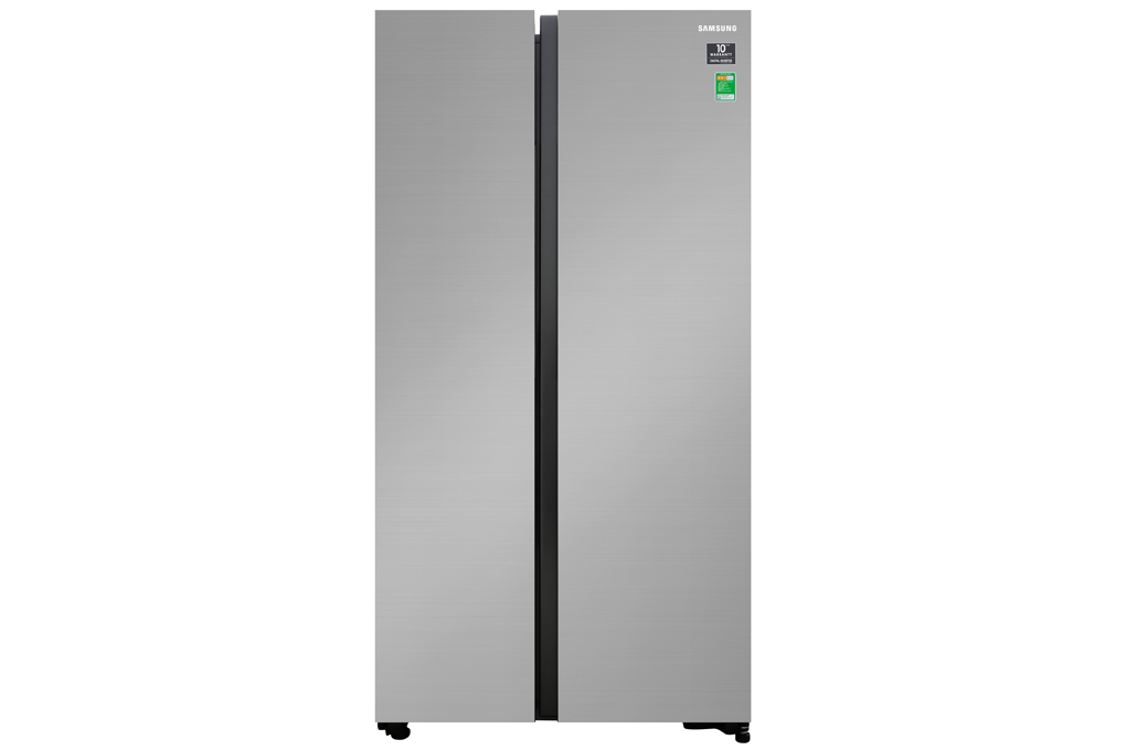 Tủ lạnh Samsung Inverter 647 lít RS62R5001M9/SV, Ngăn đá lớn Chuông báo cửa mở Công nghệ làm lạnh vòm Công nghệ kháng khuẩn, khử mùi:Bộ lọc khử mùi than hoạt tính