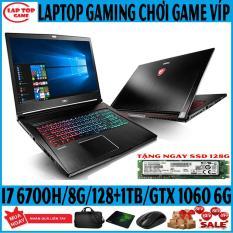 Laptop game siêu mỏng Víp MSI GS63VR 6RF Core i7-6700HQ/ 8G/ SSD256+1TB/ VGA GTX 1060 6G/ màn 15.6 FullHD 1920*1080 IPS) laptop Gaming Siêu Mỏng Nhẹ 1.8KG