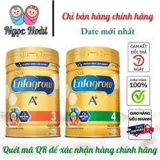 DATE MỚI . Sữa bột Enfagrow số 3 và số 4 . Lon : 830g