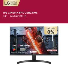 [TẶNG LOA XBOOM GO PL2 1.290K – VOUCHER 200K] Màn hình máy tính LG IPS Cinema FHD (1920 x 1080) 75Hz 5ms 24 inches l 24MK600M-B l HÀNG CHÍNH HÃNG