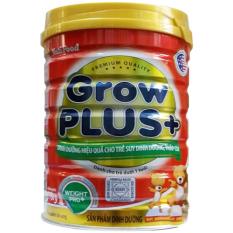 Sữa bột Grow Plus+ đỏ Lon 350g (cho bé dưới 1 tuổi) – Nutifood