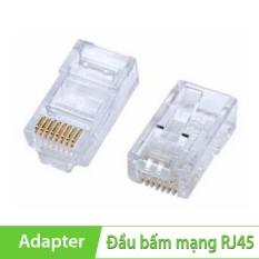 Đầu bấm mạng RJ45 AMP cat5e ( 100 CÁI )
