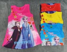 Đầm 3D Elsa bé (8-16kg)