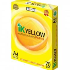 Giấy photocopy IK Yellow 70 A4