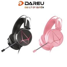 Tai nghe gaming Dareu EH722s Pink /Black giả lập 7.1 ( kết nối USB )