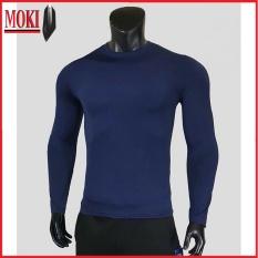 Áo giữ nhiệt nam MOKI thể thao dài tay nhiều màu size từ 45 đến 90kg