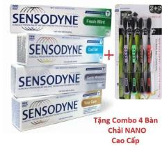 [Deal sốc] Combo 6 Tuýt Kem đánh răng sensodyne chống ê buốt Thái Lan với công thức tiên tiến giúp chăm sóc răng nhạy cảm