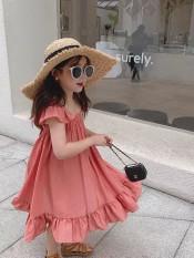 Váy đầm đũi lạnh cao cấp cho bé gái đi du lịch biển ngày hè từ 8kg đến 22kg
