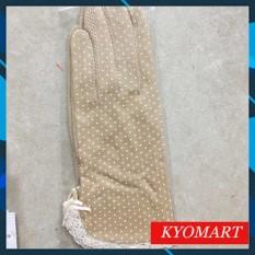 [Freeship +Combo mua 2 giảm 5% + Voucher]Găng tay chống nắng,chống tia UV Nhật Bản