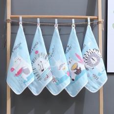 Set 5 khăn mặt Kiluta 6 lớp siêu mềm cho bé KT 30x30cm