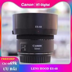 Lens Hood ES-68 cho ống kính Canon 50mm F1.8 (Loa che nắng ES-68)