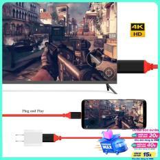 Cáp MHL Type-C to HDMI dài 2m hỗ trợ cổng sạc usb