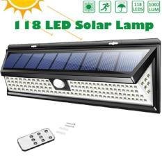 Đèn năng lượng mặt trời cảm biến ánh sáng và chuyển động 90 bóng Led tích điện