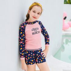 Quần áo bơi cho bé gái đẹp vải co giãn 4 chiều size bé từ 28-45kg