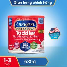 [FREESHIP TOÀN QUỐC][Nhập khẩu Mỹ] Thức uống dinh dưỡng Enfagrow Premium Toddler Hương sữa tự nhiên cho trẻ trên 1 tuổi 680g