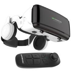 Kính thực tế ảo 3D VR Shinecon G06E – kèm tai nghe + remote Bluetooth Vr Shinecon