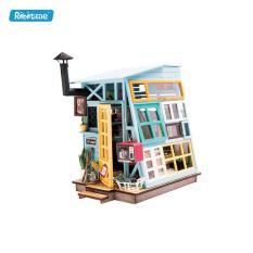[GIẢI TRÍ+TRƯNG BÀY] Mô hình lắp ráp 3D Robotime Lều gỗ DGM03